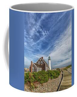 Scituate Lighthouse Boardwalk Coffee Mug