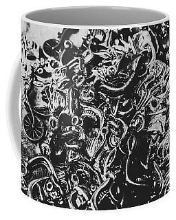 Scooter Mechanics Abstract Coffee Mug