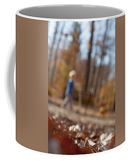Coffee Mug featuring the photograph Scootering At The Park by Greg Collins