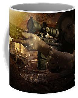 Scopped Coffee Mug