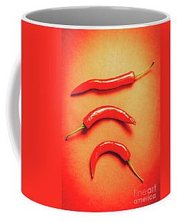 Scorching Food Background Coffee Mug