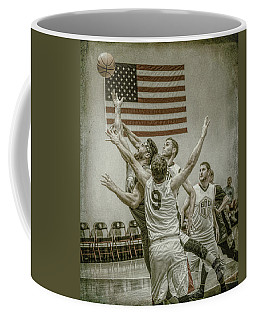 Coffee Mug featuring the photograph Scoring In Traffic by Ronald Santini