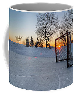 Coffee Mug featuring the photograph Scoring The Sunset 2 by Darcy Michaelchuk