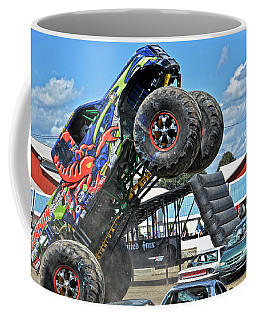 Coffee Mug featuring the photograph Scorpian Rides Again by Mike Martin