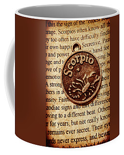Scorpio Parchment Coffee Mug