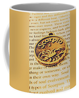 Scorpio Star Sign Token Coffee Mug