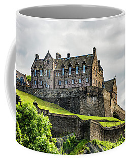 Scotland's Edinburgh Castle Coffee Mug