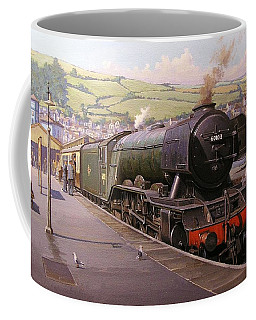 Scotsman At Kingswear Coffee Mug
