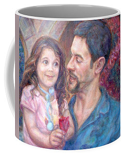 Scott And Sam Commission Coffee Mug by Quin Sweetman
