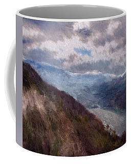 Coffee Mug featuring the painting Scottish Landscape by Mark Taylor