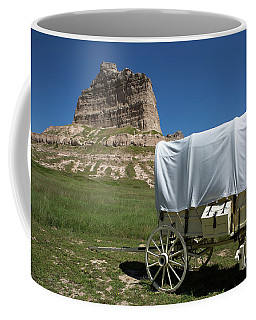 Scotts Bluff National Monument Nebraska Coffee Mug