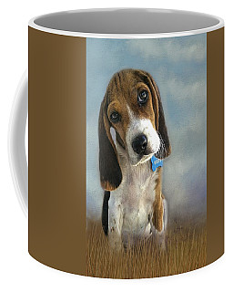 Coffee Mug featuring the photograph Scout by Steven Richardson