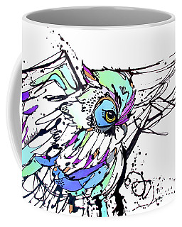 Coffee Mug featuring the painting Scouting by Nicole Gaitan