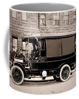 Scranton Pennsylvania  Bureau Of Police  Paddy Wagon  Early 1900s Coffee Mug