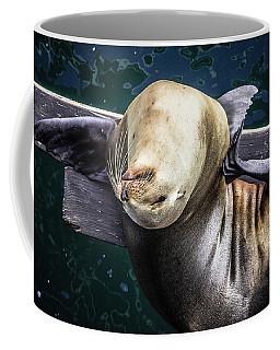 California Sea Lion - Scratch The Itch Coffee Mug