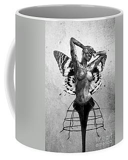 Scream Of A Butterfly II Coffee Mug by Jacky Gerritsen