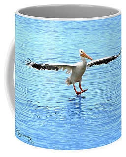 Coffee Mug featuring the photograph Screeching Halt by Mariarosa Rockefeller