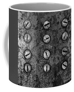 Screws On Utility Box Coffee Mug