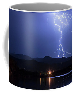 Coffee Mug featuring the photograph Scribble In The Night by James BO Insogna