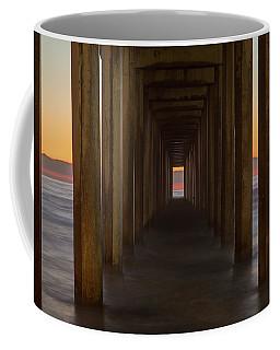 Scripps Pier At Sunset Coffee Mug