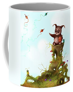 Scrumpy And The Phizz Poppers  Coffee Mug by Joe Gilronan