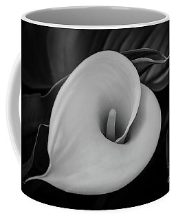 Coffee Mug featuring the photograph Sculpted Calla  by Ana V Ramirez