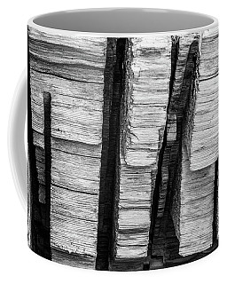 Sculpted Log Coffee Mug