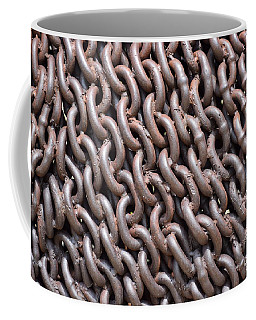 Sculpture Of Chain Coffee Mug