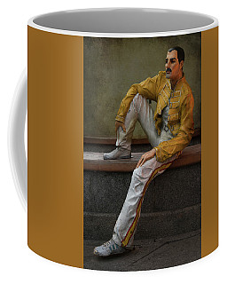 Sculptures Of Sankt Petersburg - Freddie Mercury Coffee Mug