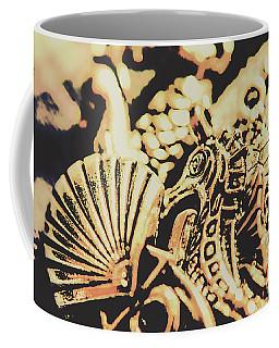 Sea Abstract From The Nautics  Coffee Mug