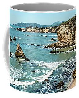 Sea And Cliffs Coffee Mug