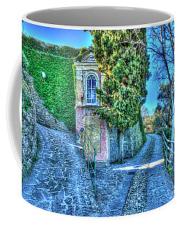 Coffee Mug featuring the photograph Sea And Mountains Hike Narrow Roads - Creuza De Ma E Creuza De Munte by Enrico Pelos