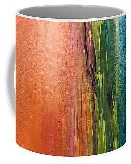 Sea And Sky Metallic Coffee Mug