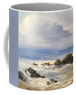 Sea Breeze Coffee Mug by Helen Harris