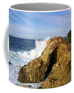 Coffee Mug featuring the photograph Sea Cave Big Sur by Floyd Snyder