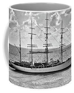 Sea Cloud Sailboat Coffee Mug