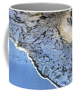Sea Foam Shoreline Coffee Mug