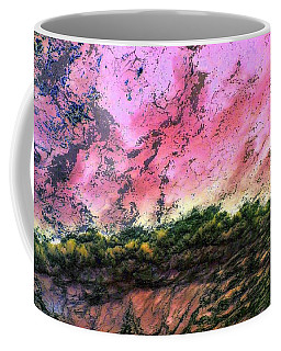 Sea Foam Art Coffee Mug