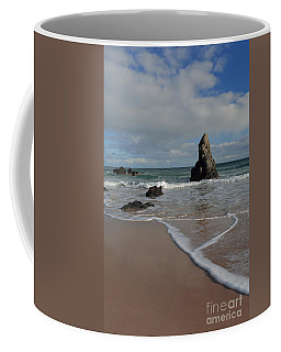 Sea Foam On Sango Bay Coffee Mug