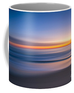 Sea Girt New Jersey Abstract Seascape Sunrise Coffee Mug