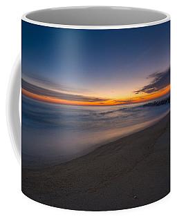 Sea Girt Sunrise New Jersey  Coffee Mug by Michael Ver Sprill
