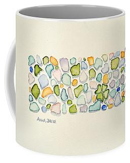 Sea Glass Puzzle - Found Luck Coffee Mug