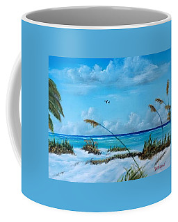 Sea Grass On The Key Coffee Mug