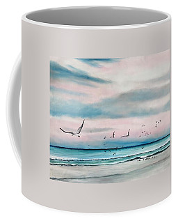 Sea Gulls On The Gulf Coffee Mug