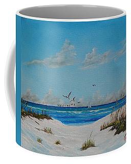 Sea Gulls On The Key Coffee Mug