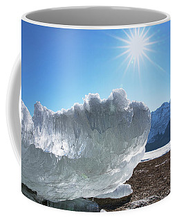 Sea Ice Glowing With The Sun Coffee Mug