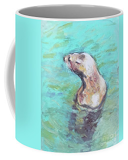 Sea Lion Coffee Mug by Yoshiko Mishina