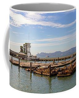 Sea Lions At Pier 39 In San Francisco Coffee Mug