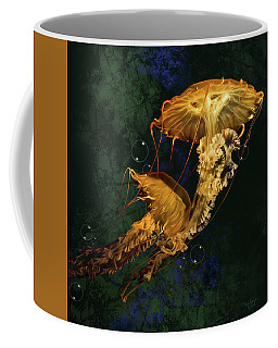 Sea Nettle Jellies Coffee Mug by Thanh Thuy Nguyen