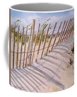 Sea Oats And Shadows Coffee Mug